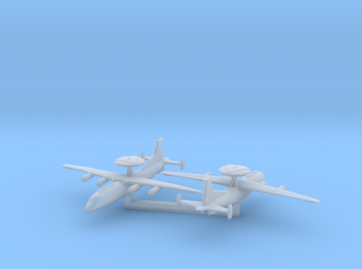 1/1200 Shaanxi KJ-500 Early Warning Aircraft 3d printed