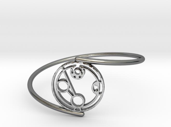 Hayden - Bracelet Thin Spiral 3d printed