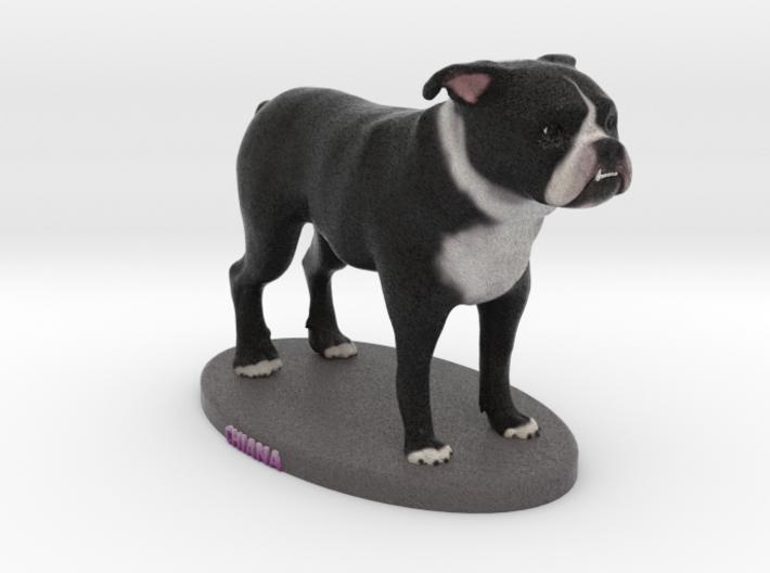 Custom Dog Figurine - Chiana 3d printed