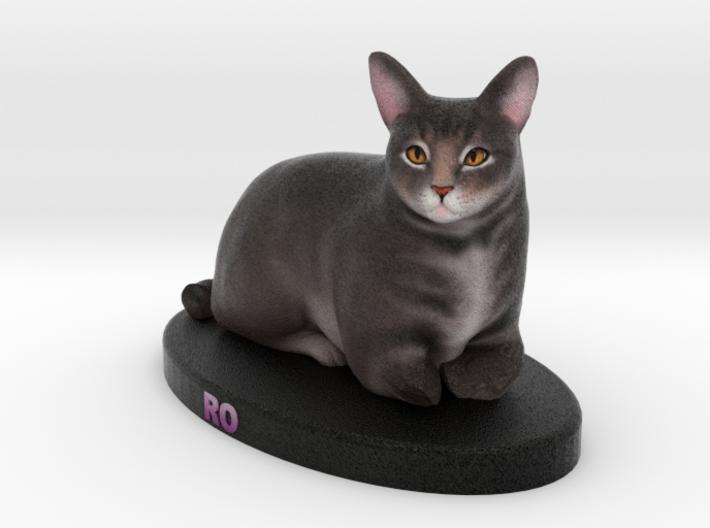 Custom Cat Figurine - Ro 3d printed