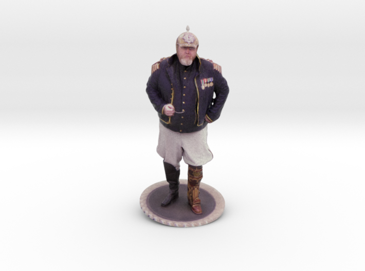 Jeremy Browne As Steampunk Pirate 3d printed