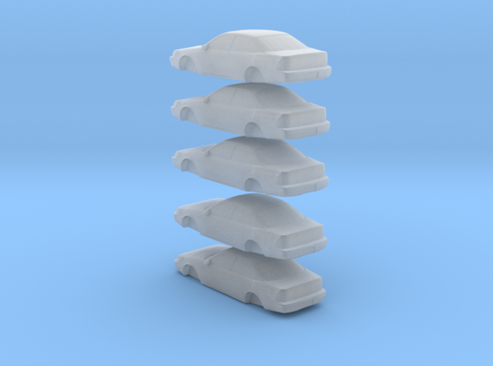 n scale 1992-1996 toyota camry 5 pack 3d printed