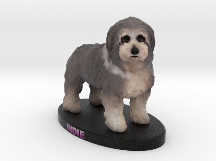Custom Dog Figurine - Indie 3d printed