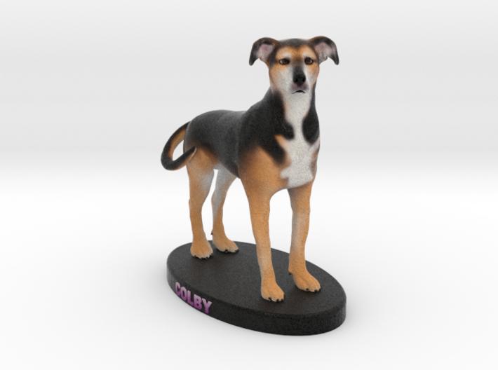 Custom Dog Figurine - Colby 3d printed