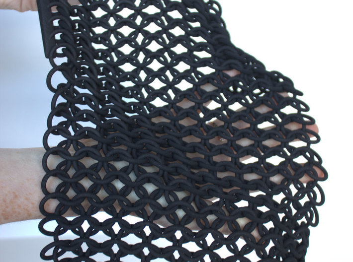 Chainmail  3d printed Tactile chainmail