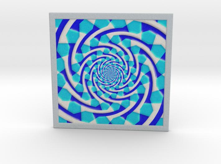 0180 Optical Illusion picture B (10cm) #006 3d printed