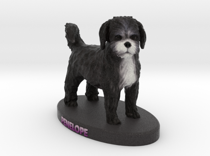 Custom Dog Figurine - Panelope 3d printed