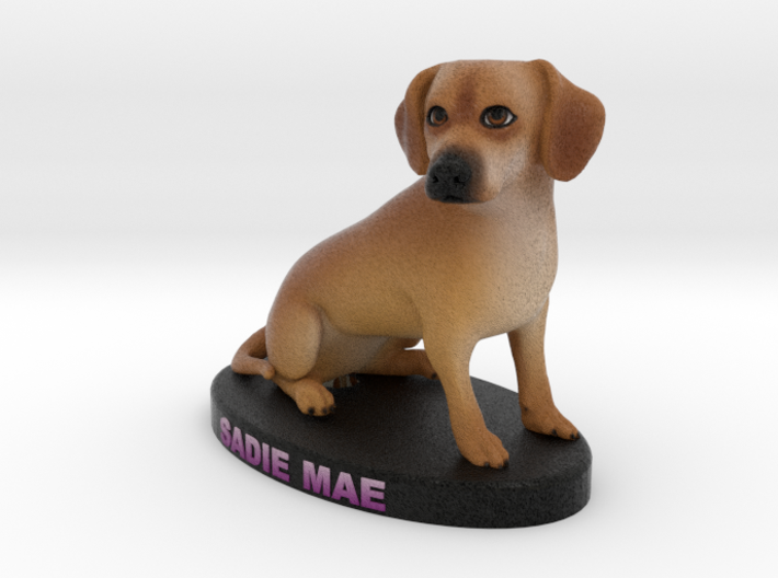 Custom Dog Figurine - Sadie 3d printed