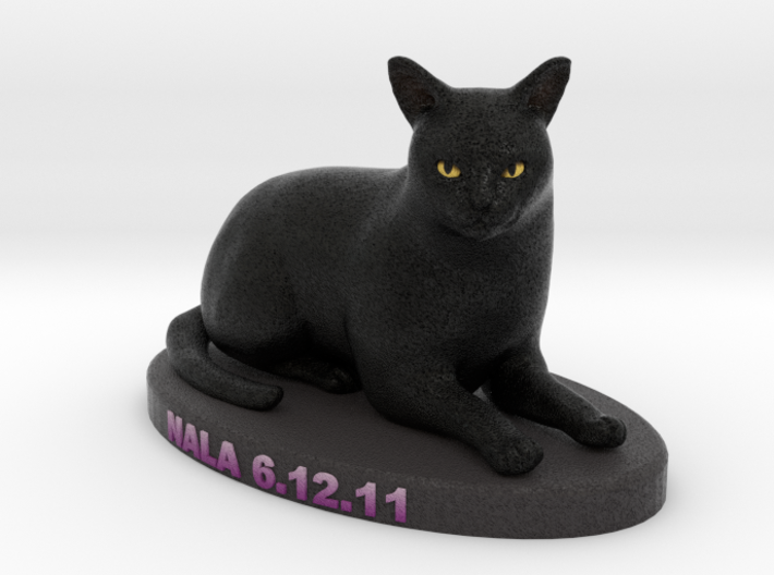 Custom Cat Figurine - Nala 3d printed