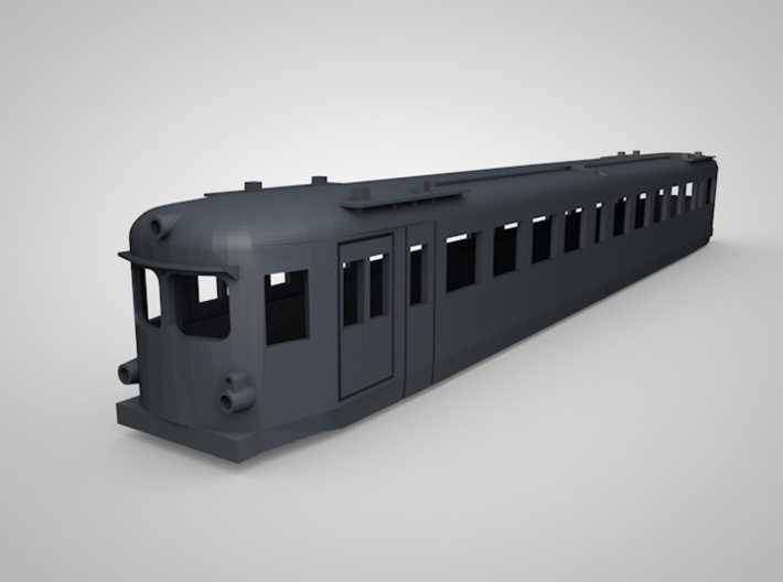 Triebwagen NBiK 4042.01 3d printed