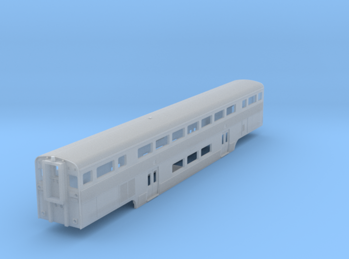 Amtrak California Car Cab Coach 3d printed