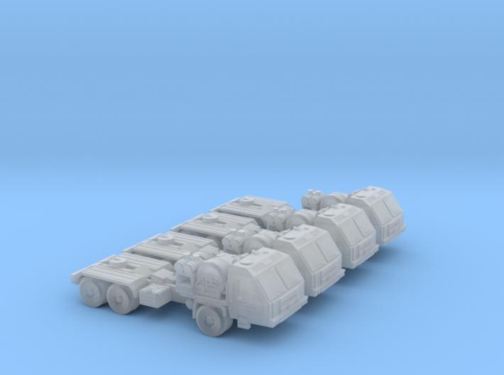 BAZ-64022 Platoon 6mm/1:285 3d printed