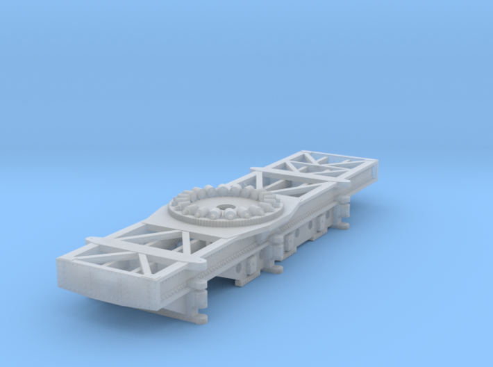 Nz120 (1/5) Craven 40-ton Steam Crane - Chassis 3d printed