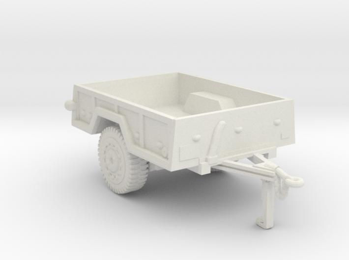 M101 trailer for humvee 3d printed