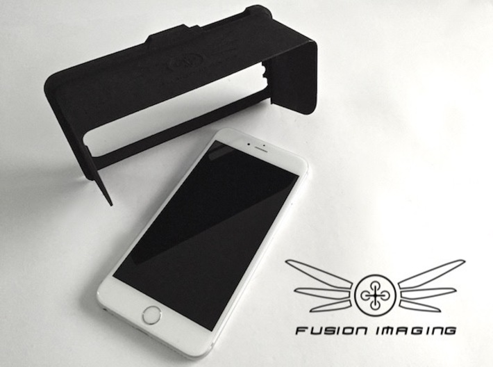 Personalised - iPhone 6/6s Plus Visor / FPV Hood 3d printed Personalised - iPhone 6 Plus Visor / FPV Hood
