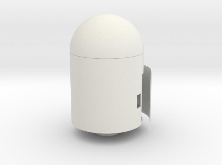 Water Rocket PARACHUTE MODULE #shapebits 3d printed