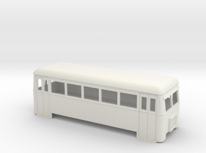 009 Short bogie railbus 3d printed