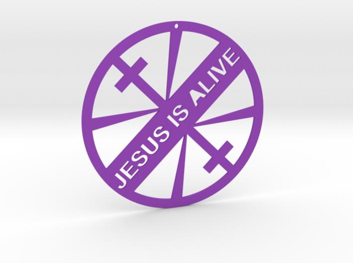 JESUS IS ALIVE 3d printed