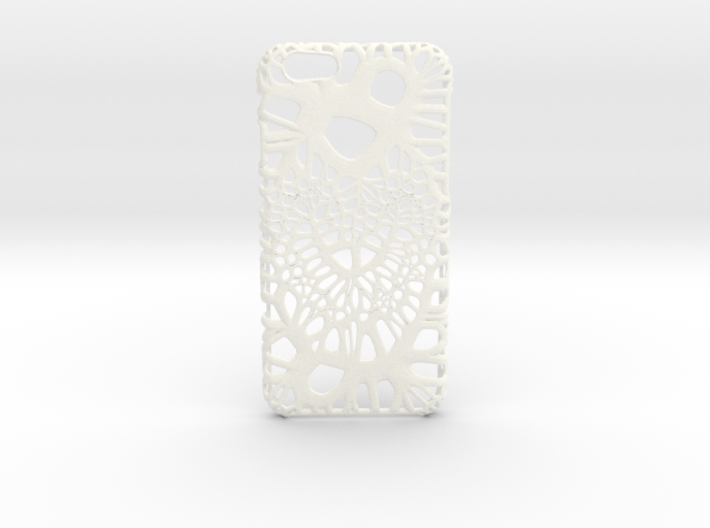 iPhone6 Case Heart (Extreme Voronoi Edition) 3d printed
