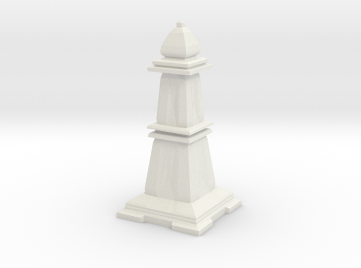 Bishop - Mini Chess Piece 3d printed