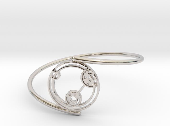 Lizzie - Bracelet Thin Spiral 3d printed