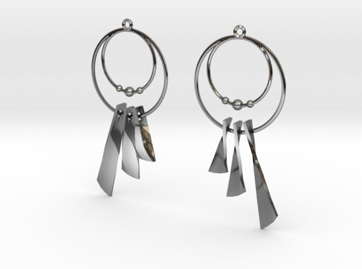 Earring Cazasueños 3d printed