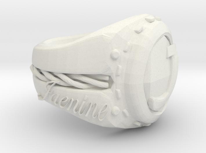 Jaenine Ring Pretest 3d printed