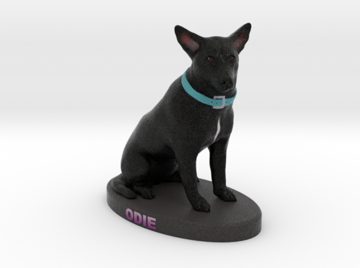 Custom Dog Figurine - Odie 3d printed
