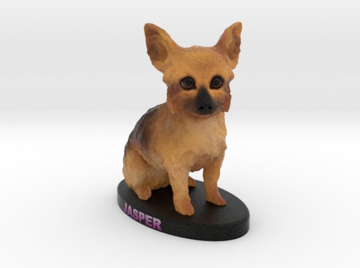 Custom Dog Figurine - Jasper 3d printed