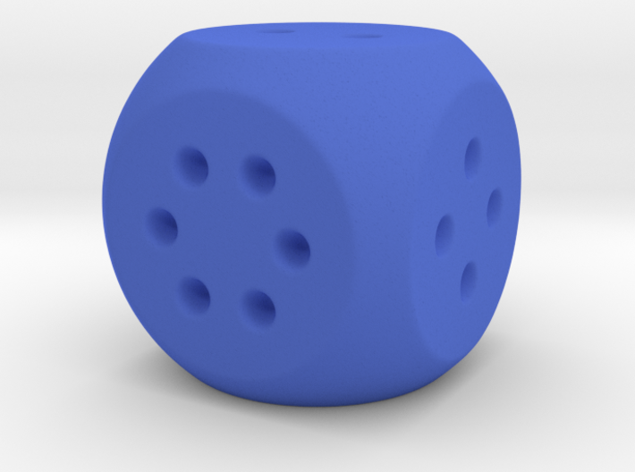 Easy Roll D6 3d printed
