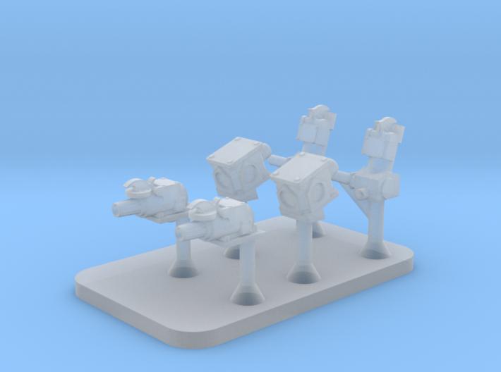ETH Connectors 3d printed