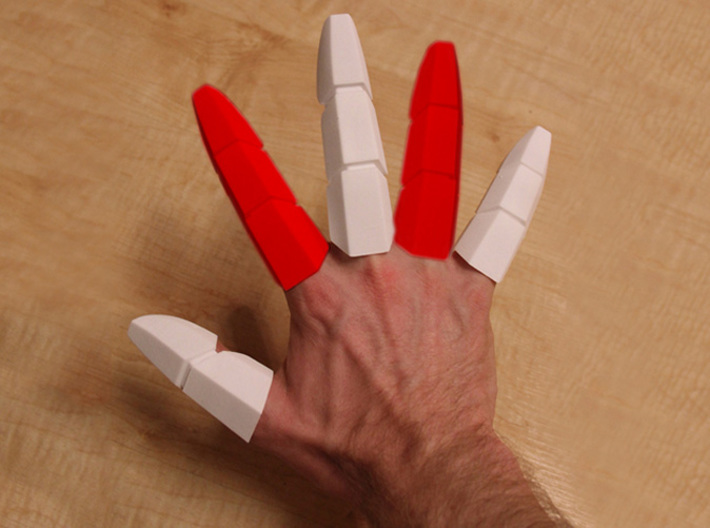 Iron Man Pointer/Ring Finger (x1) 3d printed
