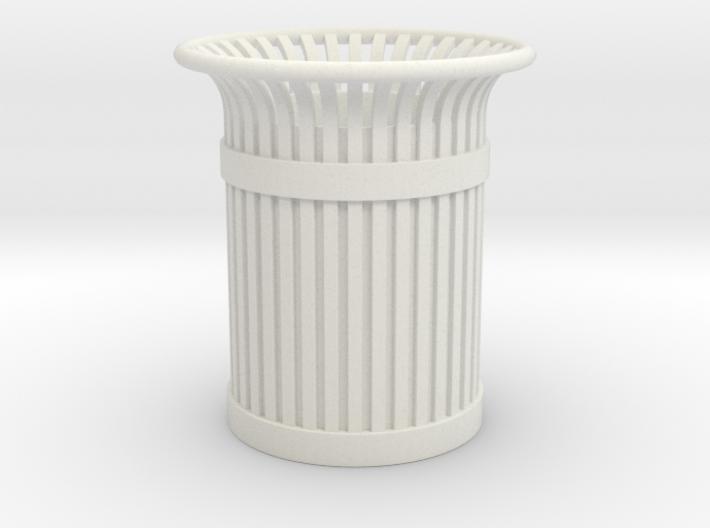 Urban Trashcan 1:24 3d printed