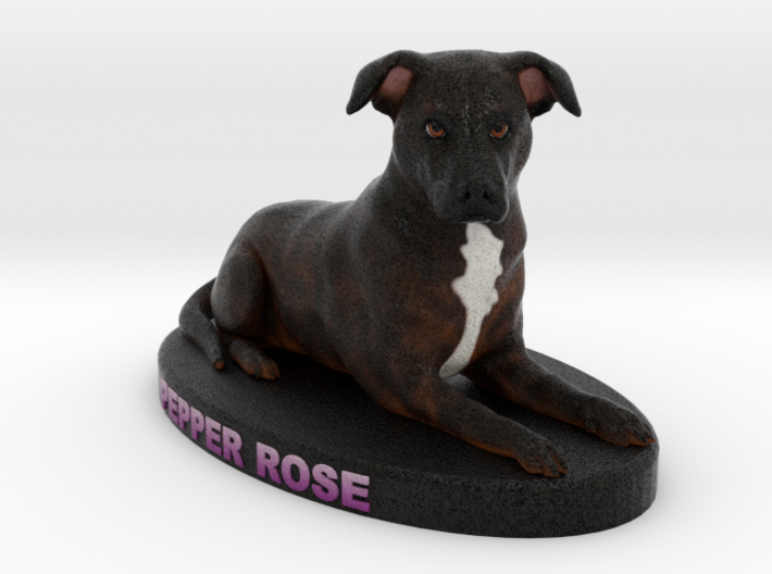 Custom Dog FIgurine - Pepper 3d printed