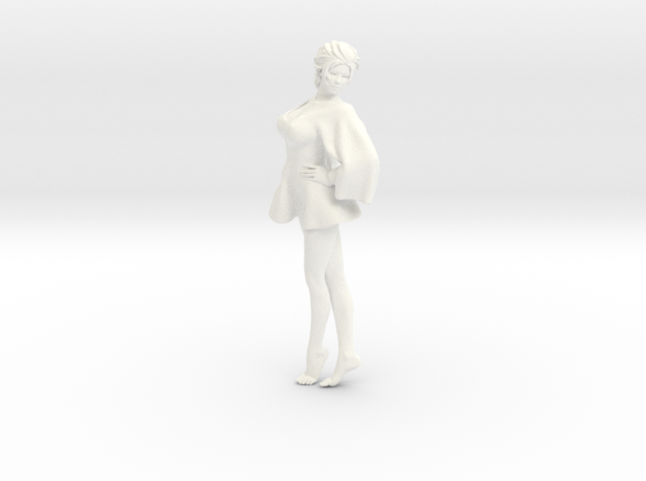 Skirt Girl-002 scale 1/10 3d printed