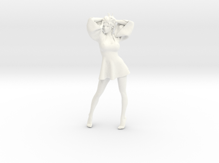 Skirt Girl-003 scale 1/10 3d printed