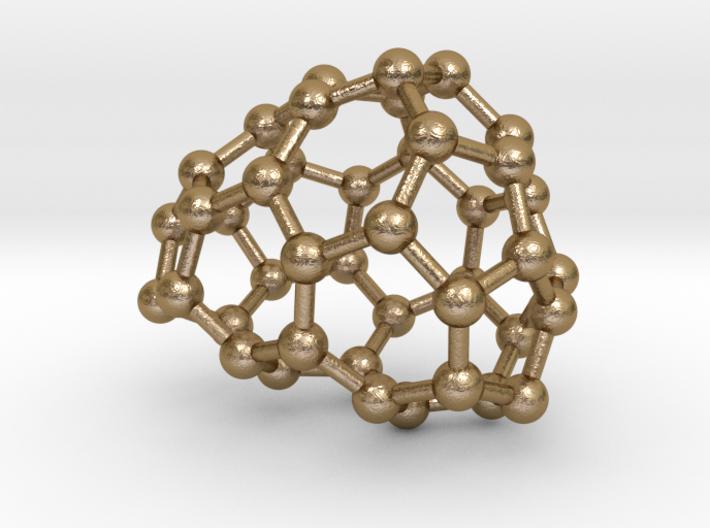 0187 Fullerene C42-4 c1 3d printed