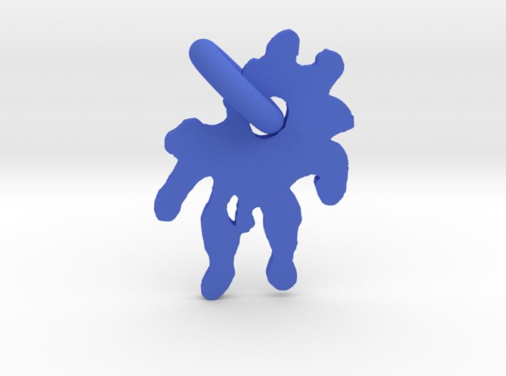 Splashed Droplet 3d printed