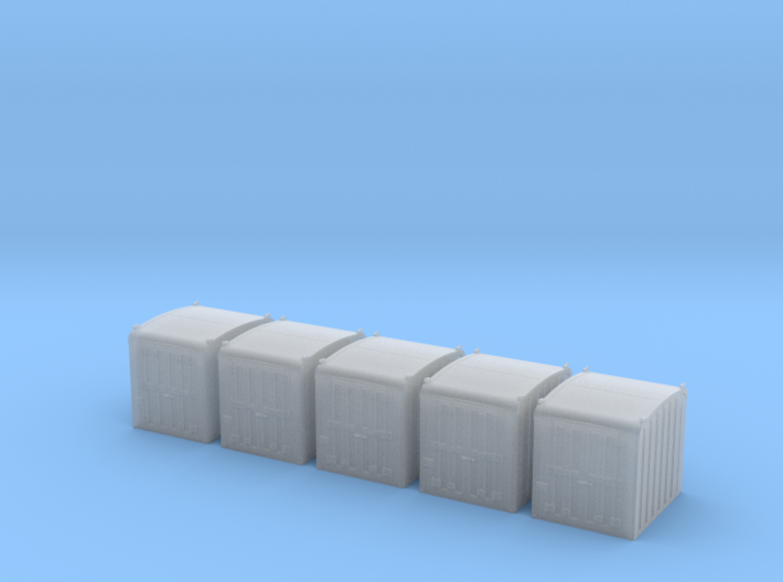 PRR DD1 Containers in N scale 3d printed