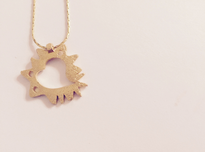Love is Grand and Messy No. 1 Pendant 3d printed