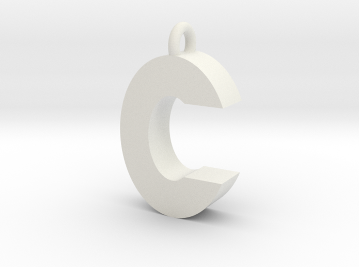 Alphabet (C) 3d printed Collection: Alphabet