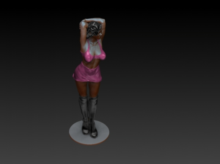 Girl, Woman, Figure - Arms up  3d printed