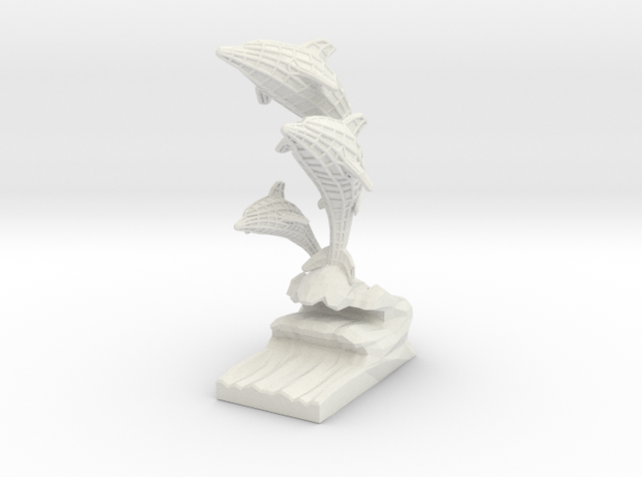 Deco Dolphins Send 3d printed