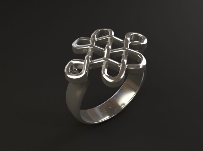 Feng Shui Ring - Size 7 3d printed