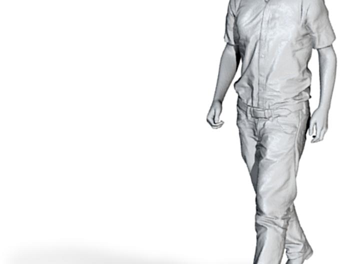 1/64 Walking Figure 3d printed
