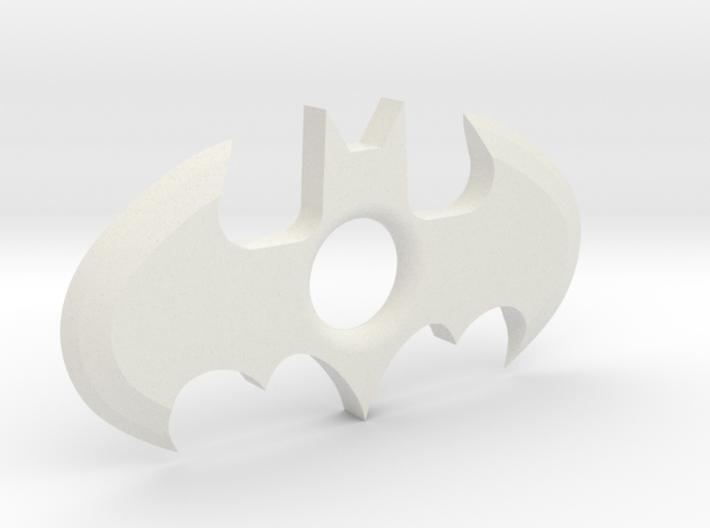 Throw-able Batman Logo (sharp) 3d printed