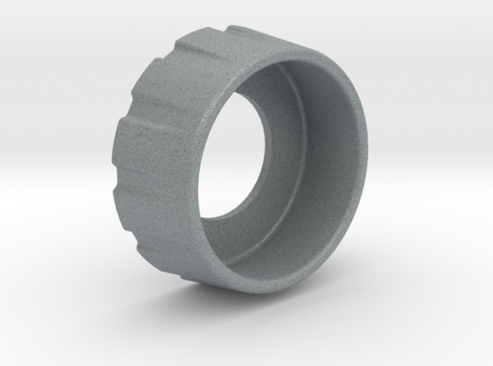 """Button Guard - Momentary - 1/2"""" or 12mm shaft 3d printed"""