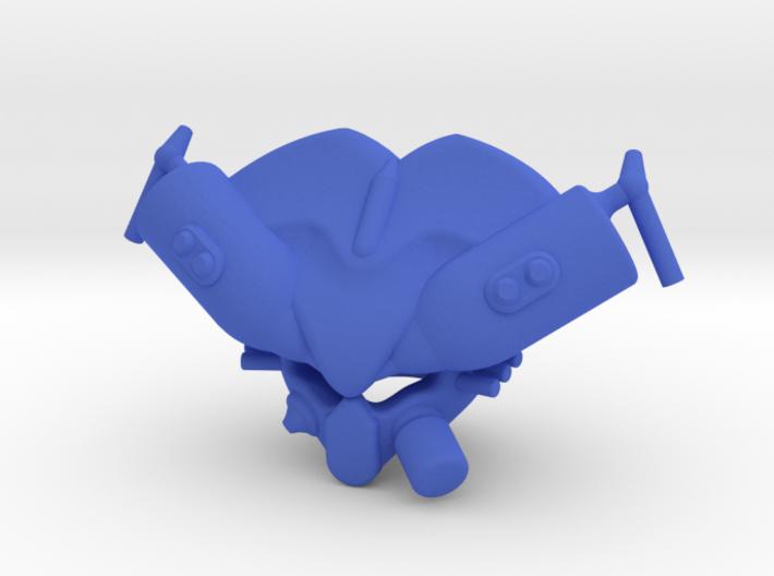 Skolas Helm 3d printed