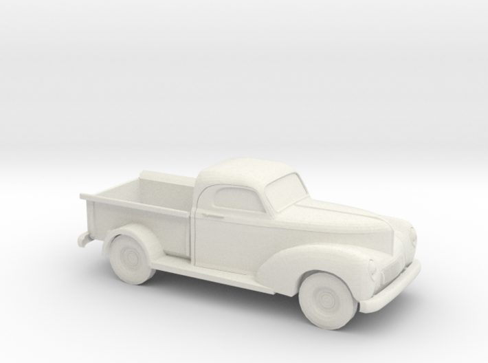 1/87 1940 Willys Overland 1/2 Ton Truck 3d printed