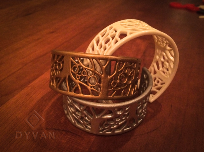 Tree of Life Bracelet 55mm 3d printed
